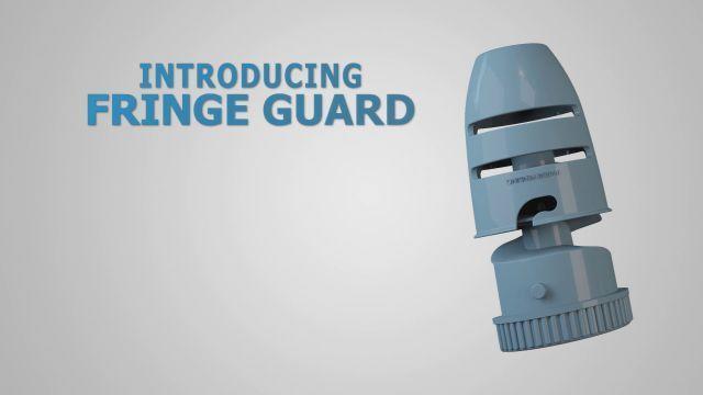 פרסומת למוצר Fringe Guard