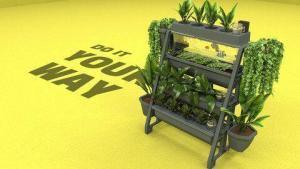 סרטון אנימציה לגינה אורבנית